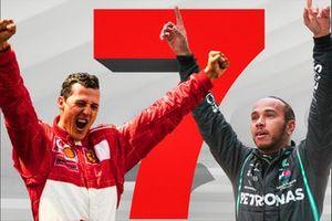 Michael Schumacher, Lewis Hamilton 7 World Championships