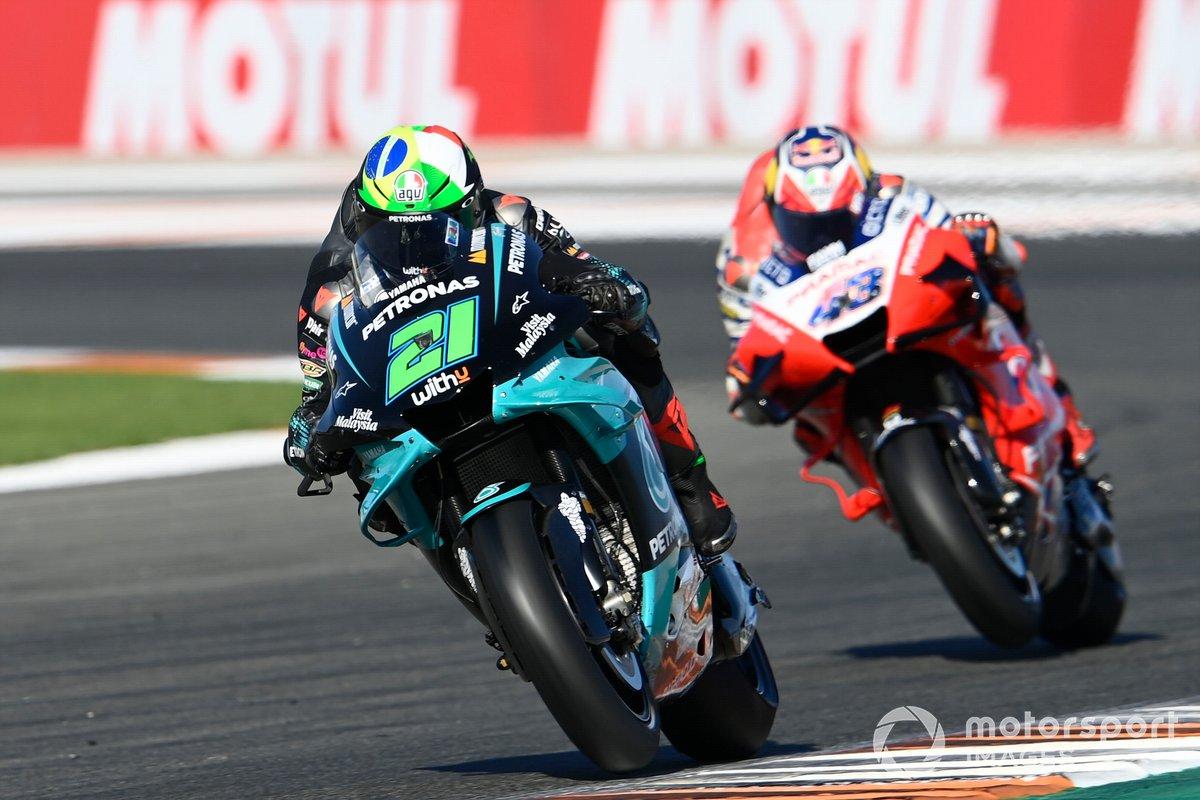 GP de Valencia: Franco Morbidelli, Petronas Yamaha SRT