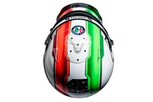 Helmet of Antonio Giovinazzi, Alfa Romeo Racing