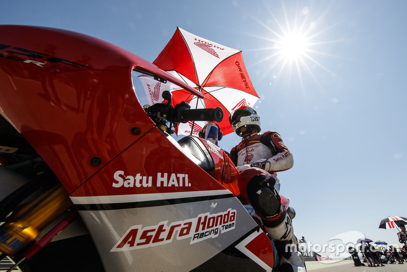 Gerry Salim, Asta Honda Racing Team