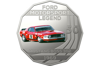 Ford Performance coin