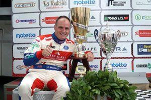 Il vincitore Omar Magliona, CST Sport