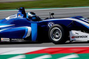 Джулиан Хансес, Carlin, Dallara F317 Volkswagen