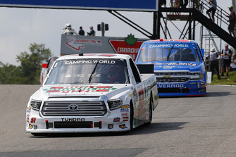 Harrison Burton, Kyle Busch Motorsports, Toyota Tundra Hunt Brothers Pizza\Fields and Stewart Friesen, Halmar Friesen Racing, Chevrolet Silverado We Build America