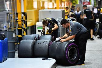 Pirelli Engineers en Pirelli-banden