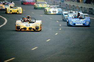 1973, Le Mans, #61 Lola T 280/282 Cosworth: Daniel Rouveyran, Christian Mons