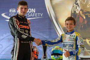 Lando Norris, European Champion 2013 with Max Verstappen