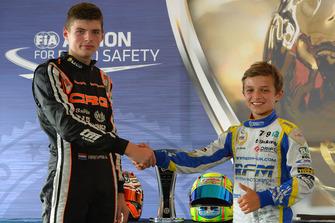 Lando Norris, Europees kampioen 2013 met Max Verstappen