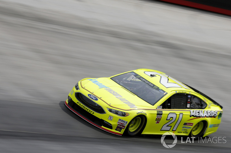 4. Paul Menard, Wood Brothers Racing, Ford Fusion Menards / Knauf