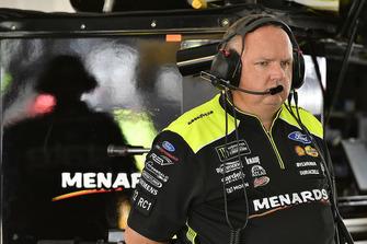 Jeremy Bullins, Ryan Blaney, Team Penske, Ford Fusion Menards/Richmond