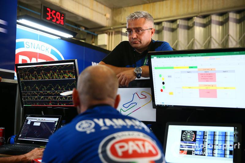 Andrea Dosoli, directeur de course de Yamaha