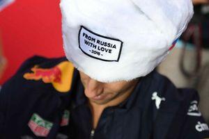 Daniel Ricciardo, Red Bull Racing avec un chapeau russe