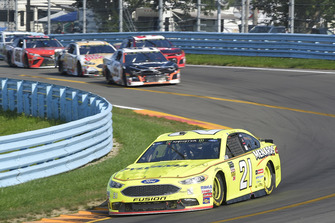 Paul Menard, Wood Brothers Racing, Ford Fusion Menards / Sylvania, Kasey Kahne, Leavine Family Racing, Chevrolet Camaro Procore