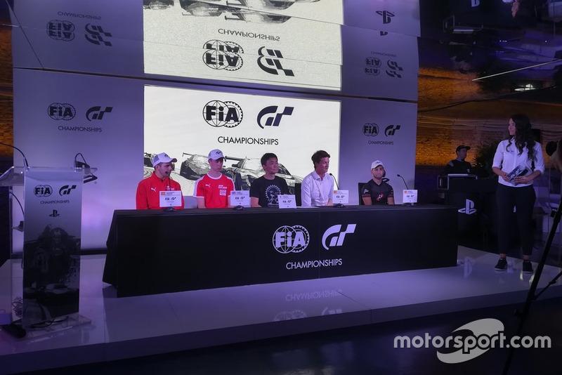 Presentación Finales Europeas FIA Gran Turismo en Madrid