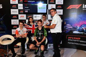 David Croft, Sky TV Commentator at F1 in Schools World Finals