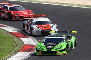 #16 Lamborghini Huracan-GT3, Imperiale Racing: Postiglione-Pereira