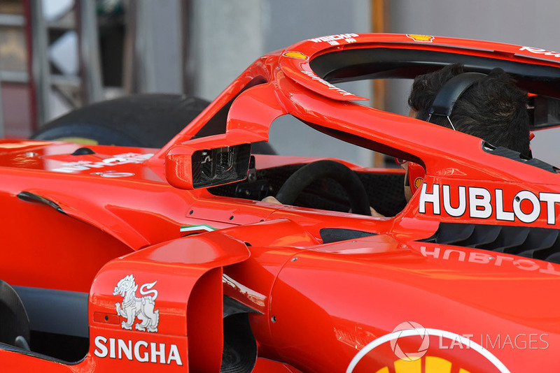 Ferrari SF71H halo