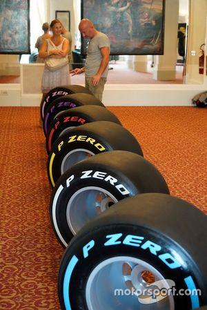 Pneumatici F1 Pirelli