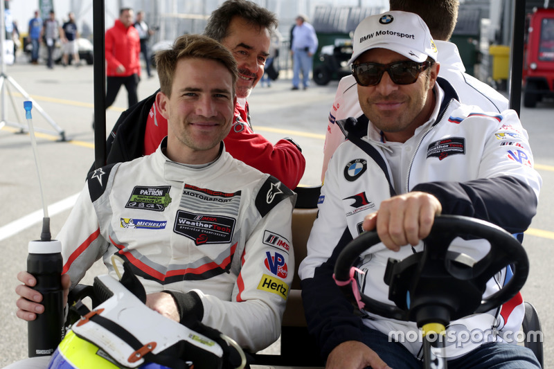 Dirk Werner, Porsche Team North America en Bill Auberlen,  BMW Team RLL