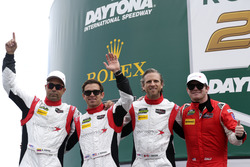 #88 Starworks Motorsport ORECA FLM09: Scott Mayer, James Dayson, Alex Popow, Sebastian Saavedra, Con