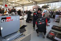 Service-Park: Toyota Racing