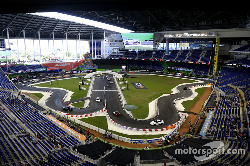 ROC-Parcours im Baseball-Stadion Marlins Park in Miami