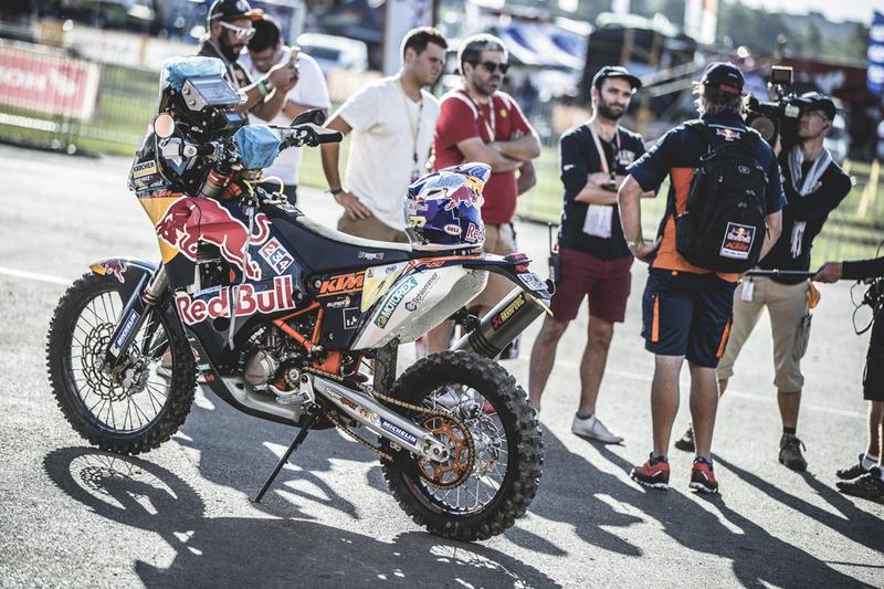 Moto del Red Bull KTM Factory Racing