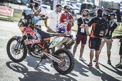 La moto du team Red Bull KTM Factory Racing
