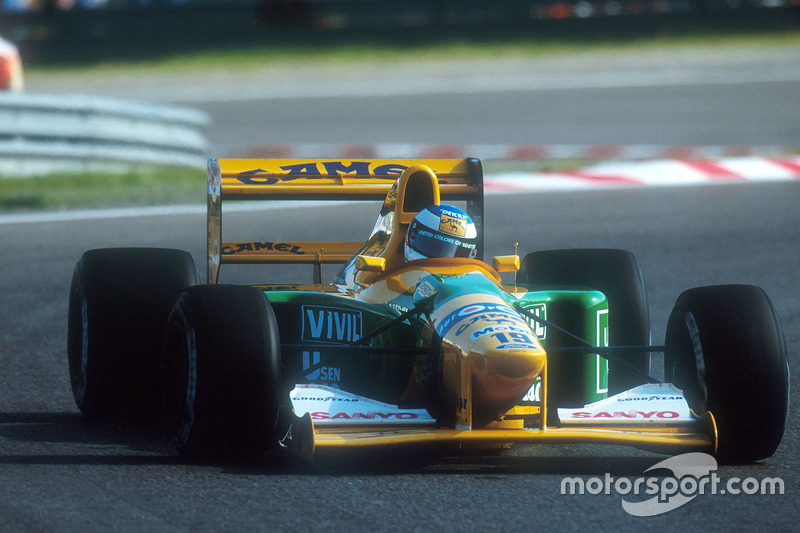 1992 Michael Schumacher, Benetton