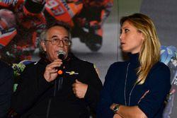 Franco Nugnes Direttore Motorsport.com, Mara Sangiorgio, giornalista Sky Sport