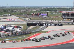 Départ : Marc Marquez, Repsol Honda, part de la pole position