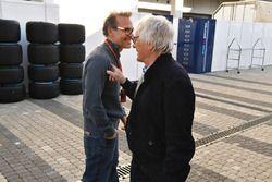 Bernie Ecclestone, Jacques Villeneuve, Sky Italia