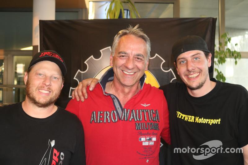 Danny Krieg, Jürg Beiner, Daniel Wittwer, podium