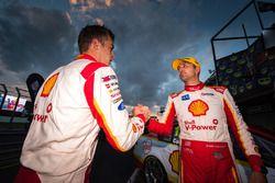 Race winner Fabian Coulthard, Team Penske Ford, Scott McLaughlin, Team Penske Ford