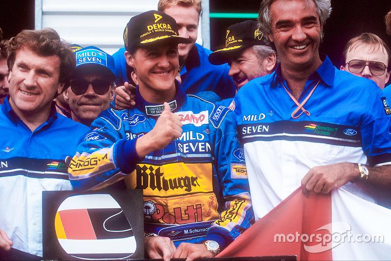 Platz 1: 1994 - Jos Verstappen/JJ Lehto/Johnny Herbert