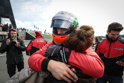 Tercer lugar Alfonso Celis Jr., Fortec Motorsports