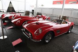 Ferrari 70 Years anniversary display