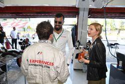 Frankie Muniz, acteur, passager de la biplace F1 Experiences