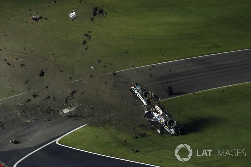 Unfall von Timothy Peters, MDM Motorsports Chevrolet