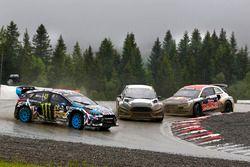 Ken Block, Hoonigan Racing Division Ford, Timur Timerzyanov, World RX Team Austria Ford Fiesta ST, Toomas Heikkinen, EKS RX Audi S1