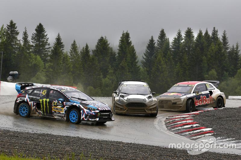 Ken Block, Hoonigan Racing Division Ford, Timur Timerzyanov, World RX Team Austria Ford Fiesta ST, T
