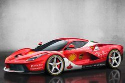 LaFerrari, Scuderia Ferrari renk düzeni ile