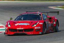 #11 Scuderia Praha, Ferrari 488 GT3: Jiri Pisarik, Josef Král, Matteo Malucelli