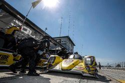 #85 JDC/Miller Motorsports ORECA 07: Mikhail Goikhberg, Chris Miller, Stephen Simpson, Pit stop
