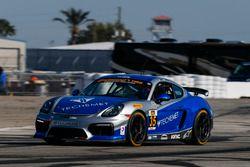 #35 CJ Wilson Racing Porsche Cayman GT4: Russel Ward, Damien Faulkne