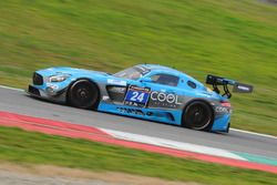 #24 SPS automotive performance, Mercedes AMG GT3: Alexandre Coigny, Iradj Alexander David, Richard Feller