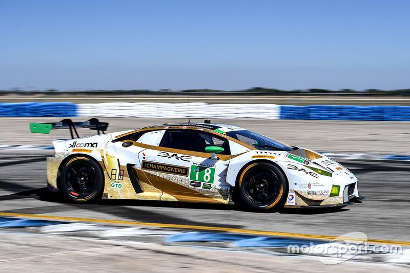 17. GTD: #18 DAC Motorsports, Lamborghini Huracan GT3