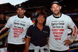 Sébastien Carron et Lucien Revaz, Ford Fiesta R5, Team Balbosca