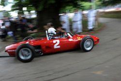 Дерек Хилл, Ferrari 156
