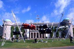 Скульптура Jaguar с Фестиваля скорости в Гудвуде